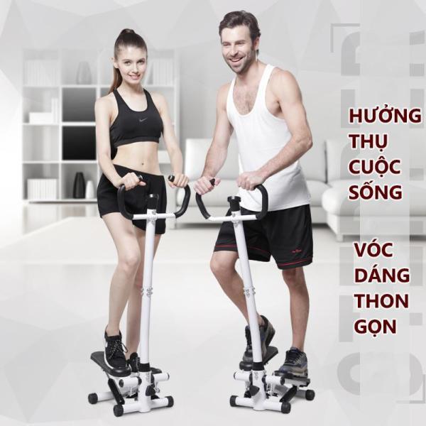 Máy chạy bộ Máy bước bộ tại nhà máy tập bước chân có tay cầm thon gọn săn chắc rèn luyện sức khỏe đa chức năng Keep Going Max