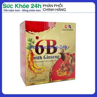 Vitamin tổng hợp 6B With Ginseng bồi bổ cơ thể, tăng sức đề kháng cho trẻ em người lớn Hộp 100 viên thumbnail