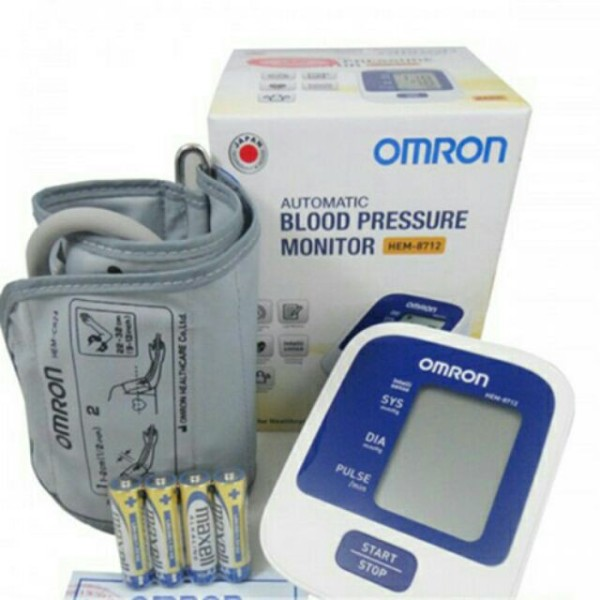 Máy đo huyết áp điện tử bắp tay Omron Hem-8712 kèm bộ chuyển nguồn, cam kết hàng đúng mô tả, chất lượng đảm bảo, xin vui lòng inbox shop để được tư vấn thêm bán chạy
