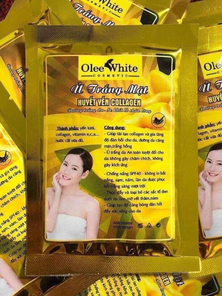 Mat Na U Trang Huyet Yen nhập khẩu