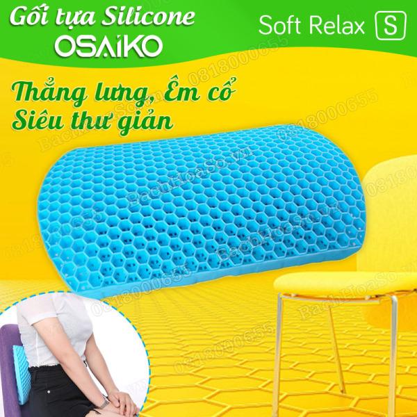 Đệm lót tựa lưng ghế, Nệm Gối lót tựa lưng ghế cho xe hơi ôtô, ghế văn phòng bằng silicone tổ ông