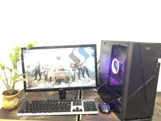 Máy vi tính chơi game Liên Minh max setting, Rules of Survival, CF,..học tập, giải trí, màn hình 22in led full HD 1920x1080 thumbnail