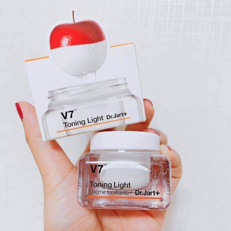 Kem Dưỡng Tái Tạo Và Trắng Da Dr.Jart+ V7 Toning Light 15ml | Lazada.vn