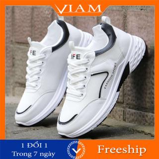 [FREESHIP] Giày Thể Thao Nam Thời Trang Siêu Nhẹ Siêu Êm Thoáng Khí Mới Nhất 2021 VIAM AS38T thumbnail