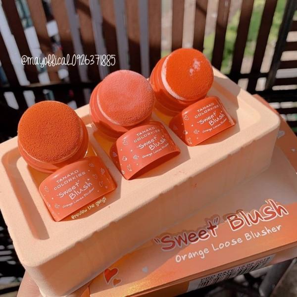 Phấn má dạng bột Tanako Colorkiss Sweet Blush 50g nội địa Trung giá rẻ