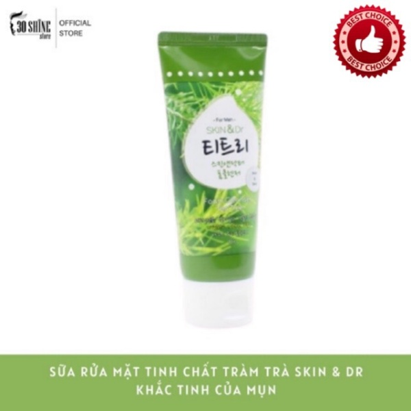 Sữa Rửa Mặt Tràm Trà Skin&Dr Tea Tree - Khắc Tinh Của Mụn 80g cao cấp