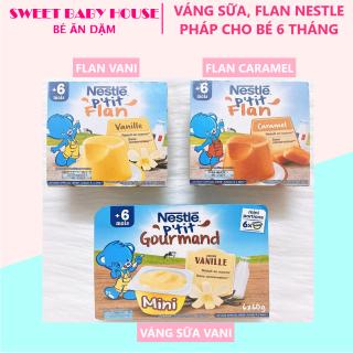 Váng sữa Nestle Pháp 6 60g vị vani cho bé 6 tháng. Date 11 21 - Sweet Baby House thumbnail