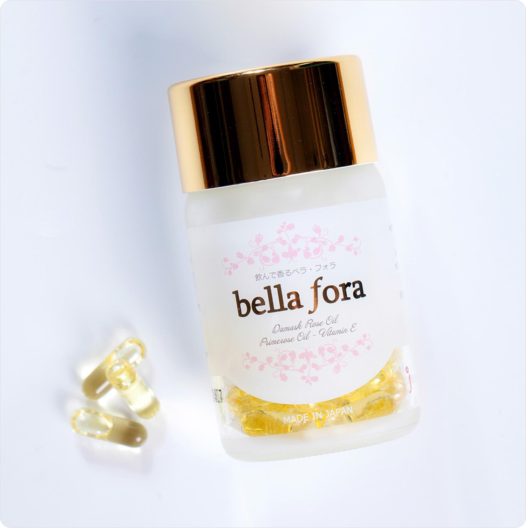 Viên nang tinh chất hoa hồng Bella Fora (35 Viên)