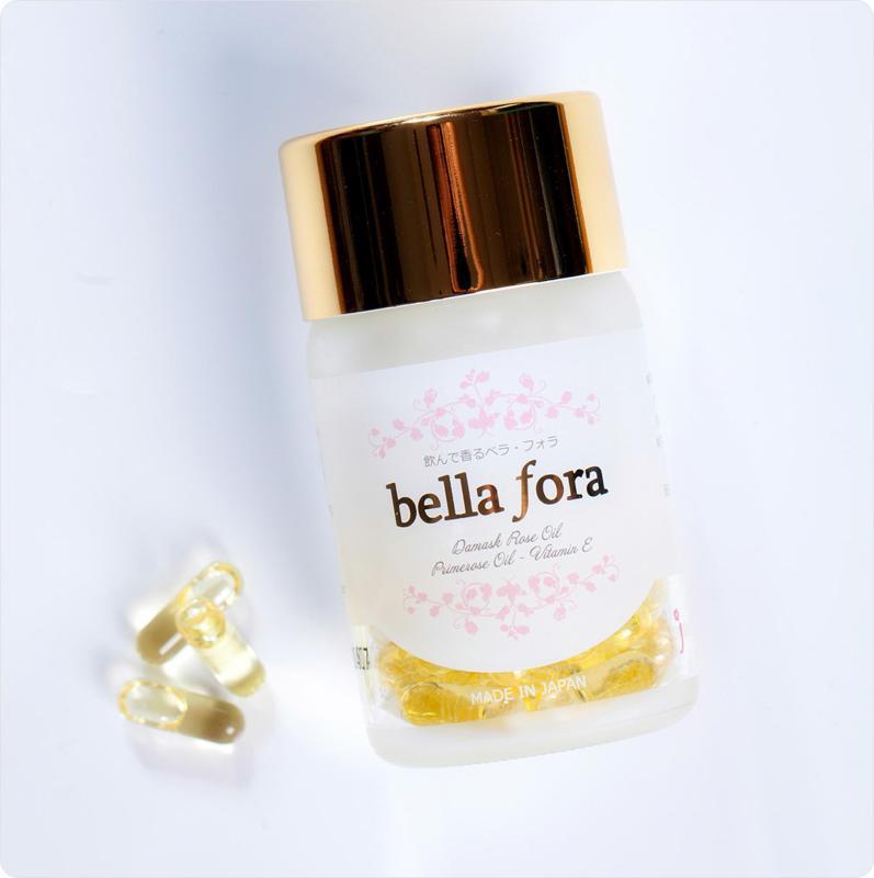 Viên nang tinh chất hoa hồng Bella Fora (35 Viên) cao cấp