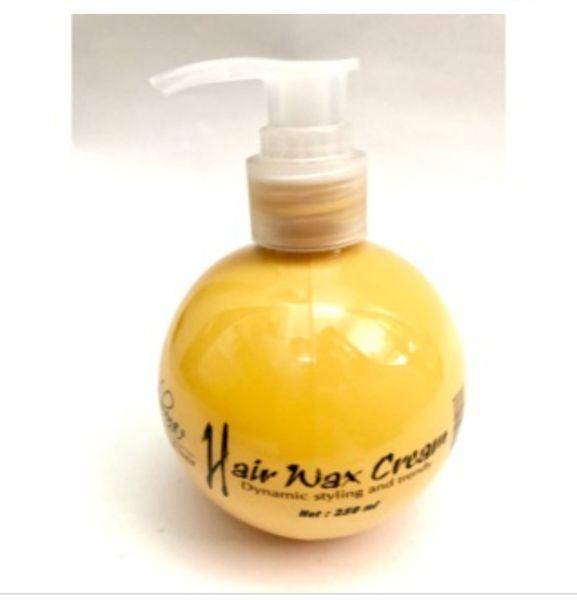 Wax tạo kiểu cho tóc uốn xoăn Hair Wax Cream Nobana 250ml cao cấp