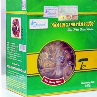 Nấm lim xanh thái lát 500 gram thumbnail
