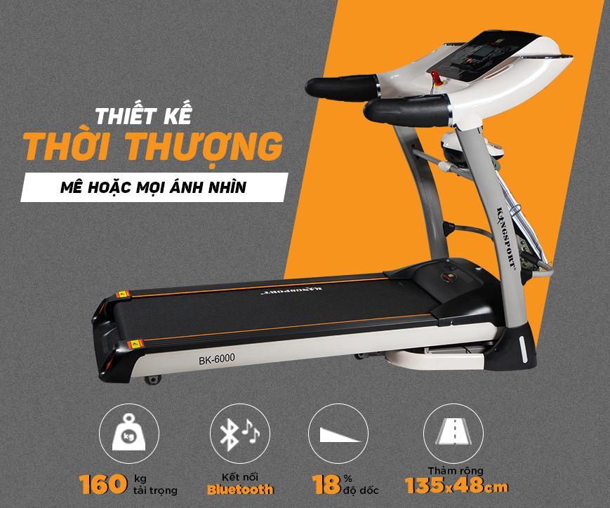 Bảng giá Máy Chạy Bộ Kingspor BK6000 đa năng