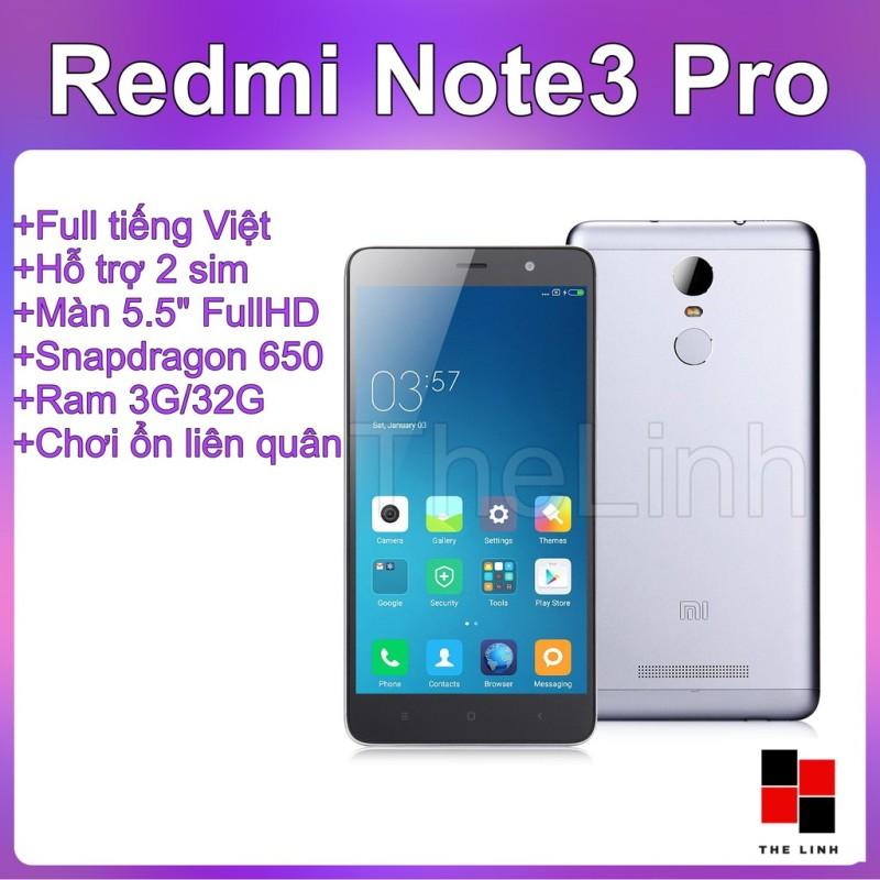 Điện thoại Xiaomi Redmi Note 3 Pro - Snap 650 màn 5.5