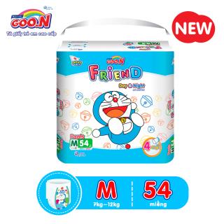 Tã quần Goo.N Friend Doremon gói cực đại size M54 miếng dành cho bé 7 - 12 kg (Form Tã siêu ôm ) thumbnail