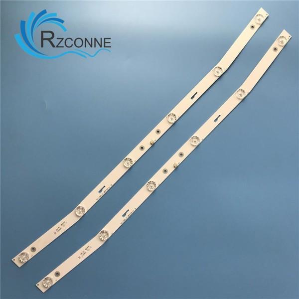 Bảng giá Led Asanzo 32 cong - Combo 2 thanh 6 LED 6V dài 58.4cm cho Tivi Asanzo 32 và một số dòng Điện máy Pico