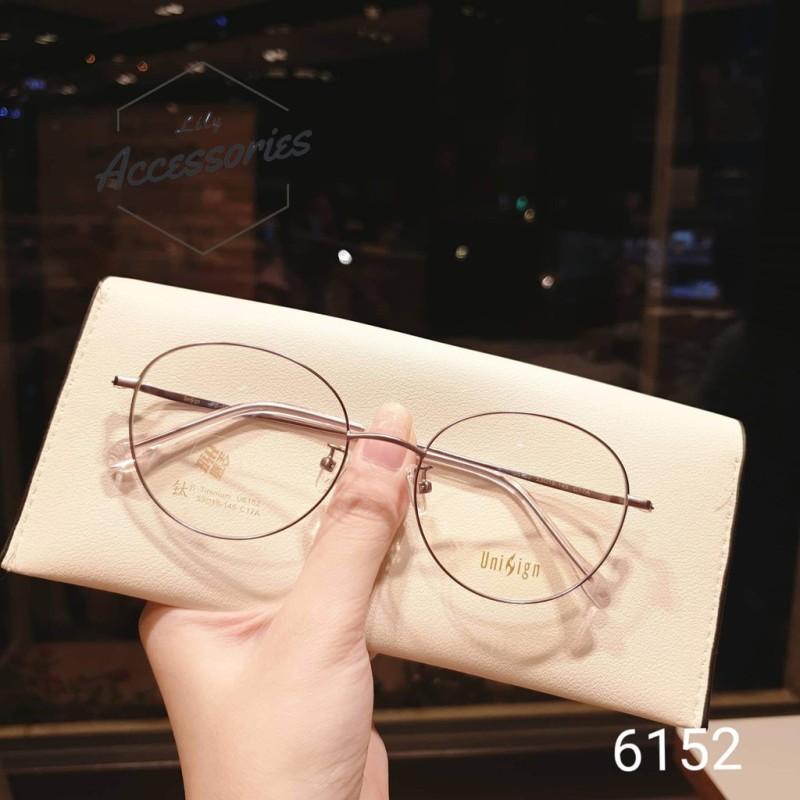 Giá bán Gọng kính cận thời trang  Gọng cận kim loại 6152