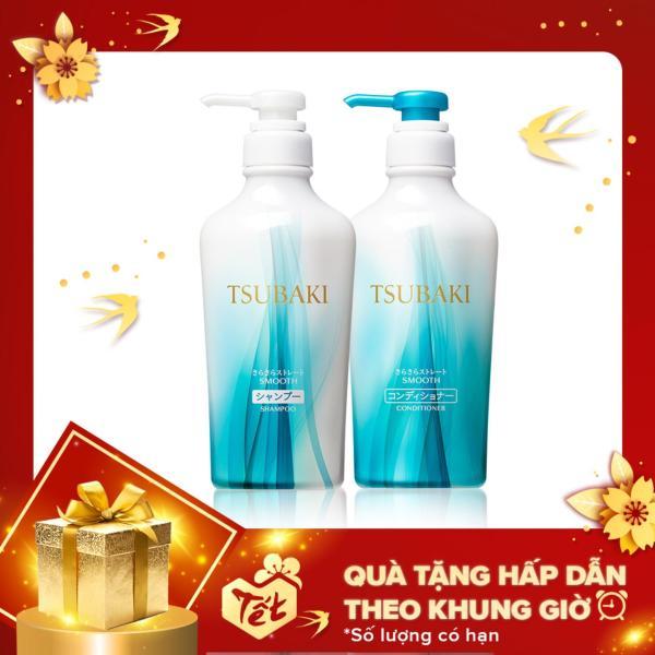 Bộ đôi dầu gội và dầu xả suôn mượt mềm mại Tsubaki Smooth 450ml/chai tốt nhất