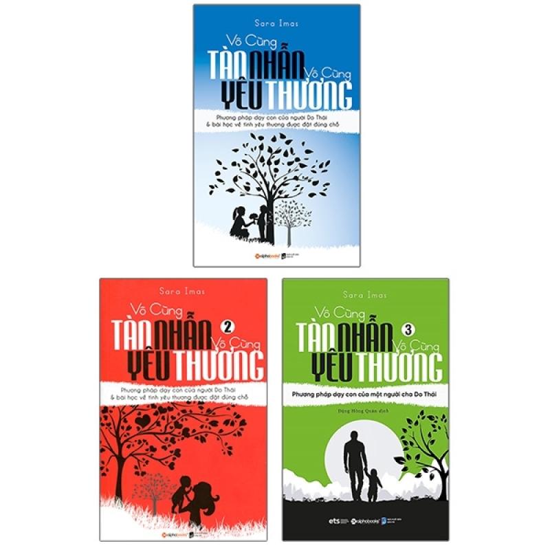 Combo Trọn Bộ Ba Cuốn : Vô Cùng Tàn Nhẫn Vô Cùng Yêu Thương (Tập 1+2+3) - Tặng Bookmark