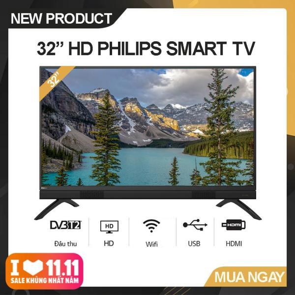 Bảng giá Smart Tivi Led Philips 32 inch HD - Model 32PHT5883/74 (Đen) Công nghệ Pixel Plus HD, Tích hợp DVB-T2 Wifi - Bảo Hành 2 Năm