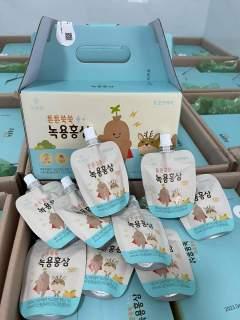 Sản Phẩm Hot Combo 5 gói Hồng Sâm Nhung Hươu giành cho bé - Giúp bé phát triển toàn diện thumbnail