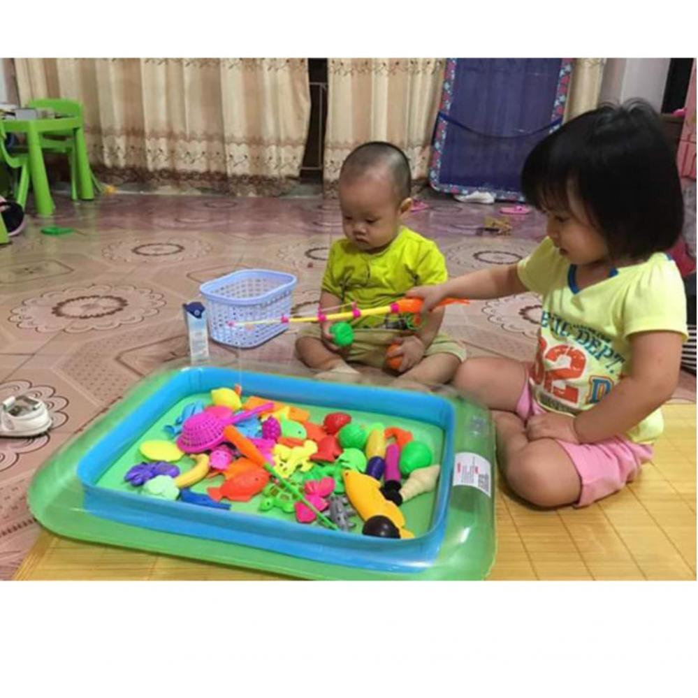 Bộ Bể Phao Câu Cá Cho Bé - Kmart