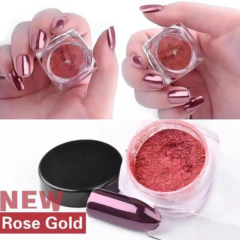 Tráng gương kim loại ( màu Rose gold) nhập khẩu