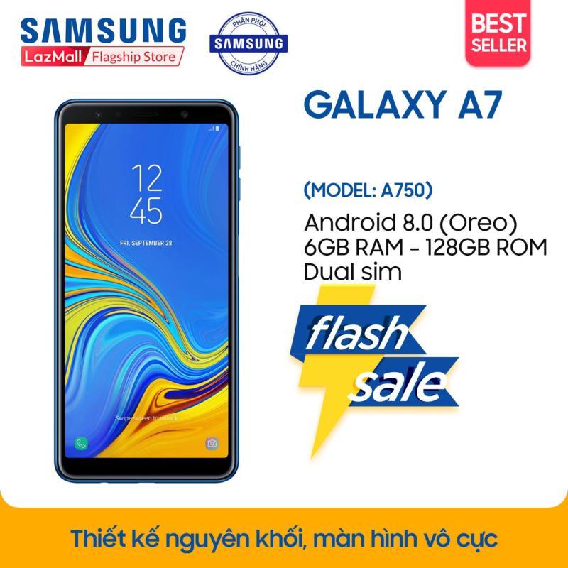 Điện thoại Samsung Galaxy A7 (2018) - 6GB RAM - 128GB ROM - 6 inch -  - Android điện thoại thông minh