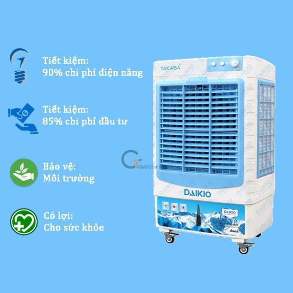 Máy làm mát chính hãng DAIKIO 4500D bảo hành tại nhà