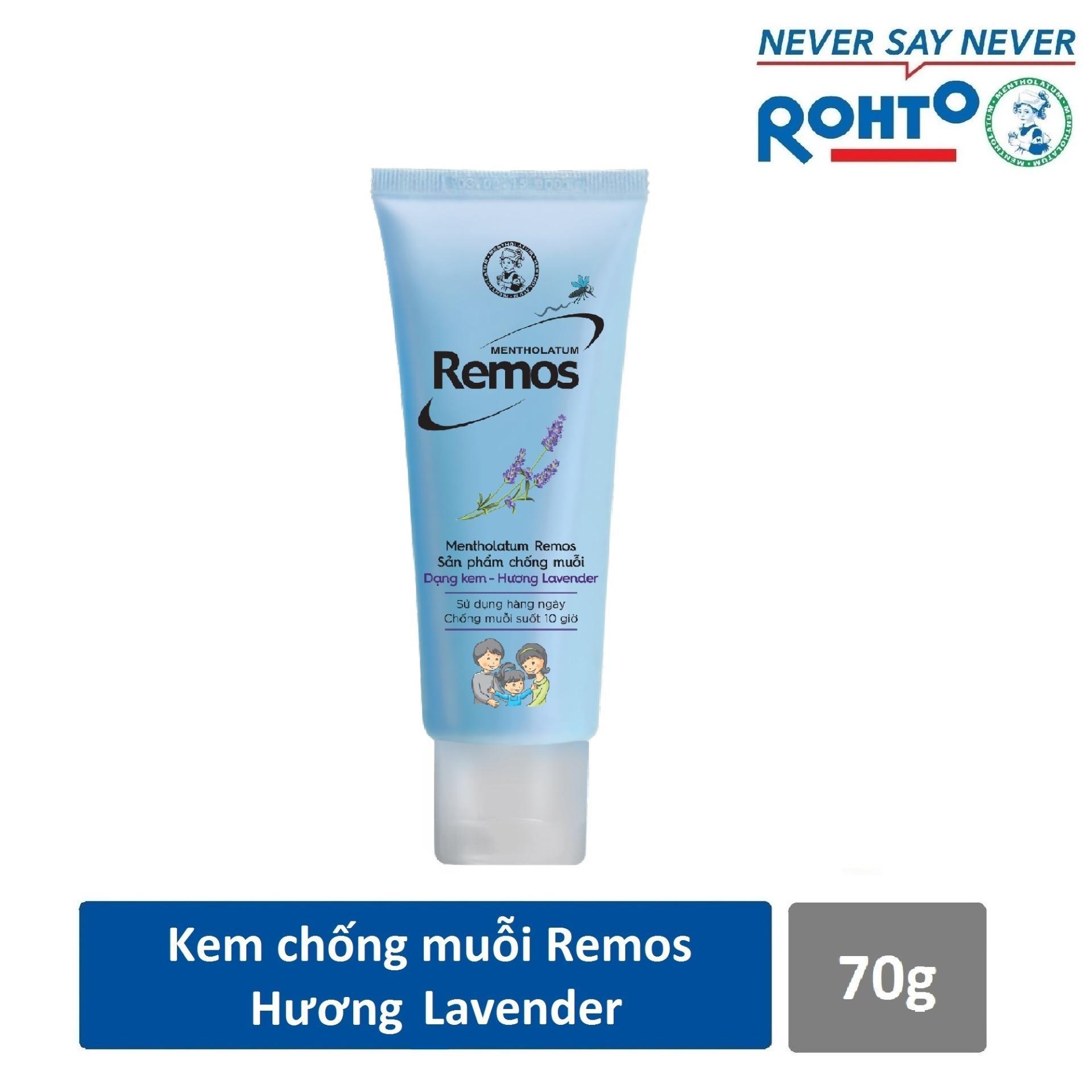 Kem chống muỗi Rohto Metholatum Remos Hương Lavender 70g