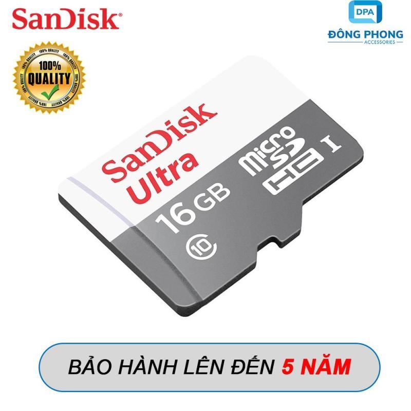 Thẻ Nhớ Micro SD 16GB Sandisk 80mb/s