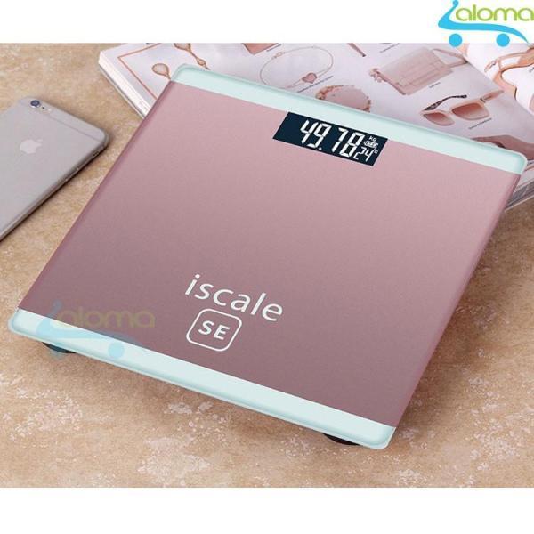 Cân sức khỏe điện tử kiểu dáng iphone Iscale
