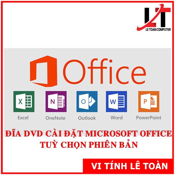 Bảng giá ĐĨA DVD CÀI ĐẶT OFICE TUỲ CHỌN PHIÊN BẢN Phong Vũ