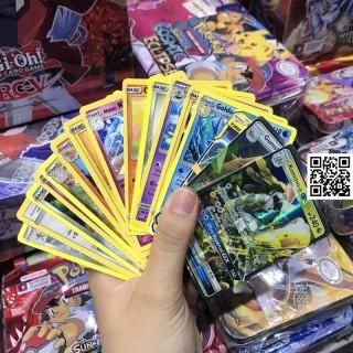 Bài Pokemon Thường cán bóng 1 mặt ngẫu nhiên (CAM KẾT KHÔNG TRÙNG) TẶNG 1 lá phản quang đặt biệt khi mua 20 lá [ 1459 R A ] 2
