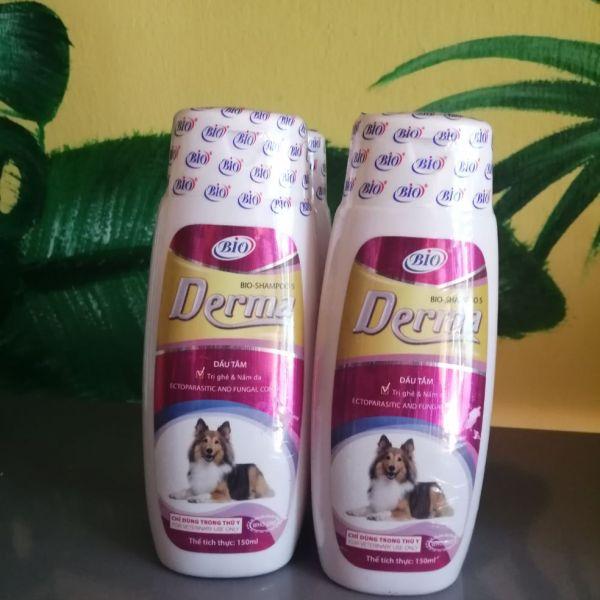 sữa tắm chó mèo Derma