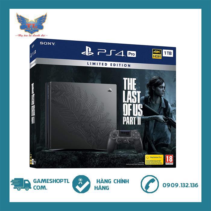 [TRẢ GÓP 0%] Máy Playstation 4 Pro TLOU II Limited Edition-Chính Hãng