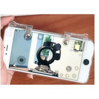 Bộ 2 Nút Bấm Cơ K01 Kim Loại Trong Suốt Hỗ Trợ Chơi Game PUBG Mobile Ros Mobile 5