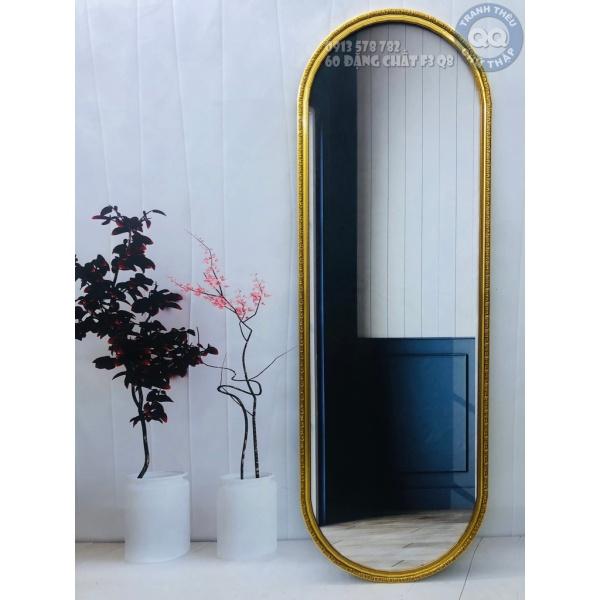 40x130cm Gương soi toàn thân CÓ CHÂN V2 Gương treo tường