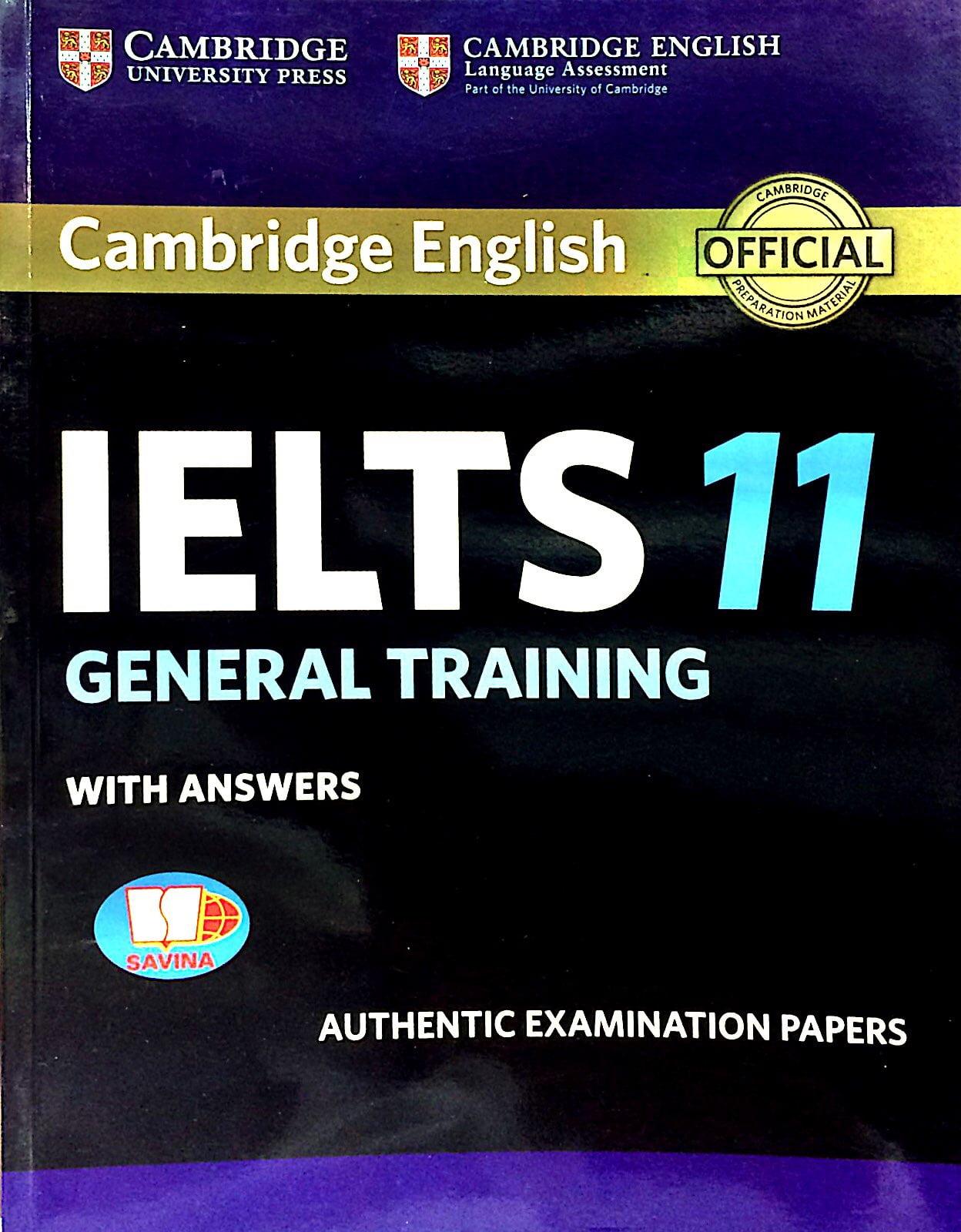 Fahasa - Cambridge IELTS 11 General Training With Answers (Savina)