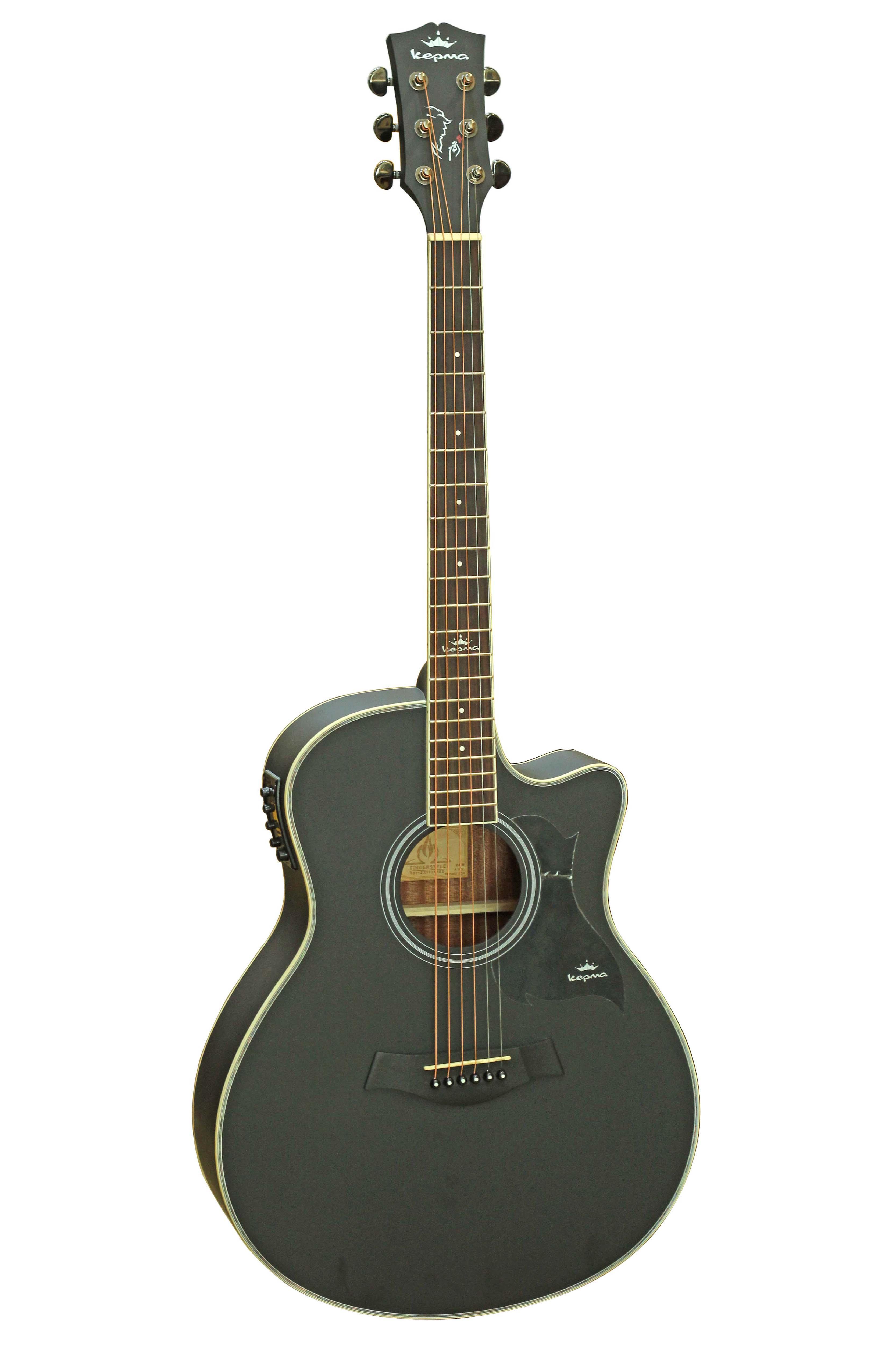Đàn Guitar Acoustic Kepma A1C-EQ Tặng bao , capo , pic , ty chỉnh cần
