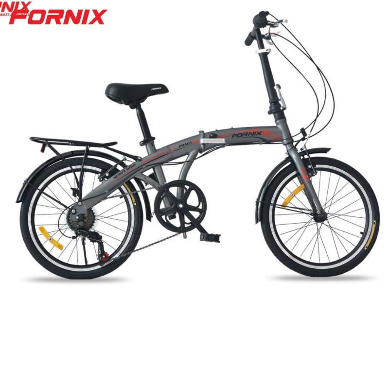 Phân phối Xe đạp gấp Prava màu BẠC MỜ ĐẸP
