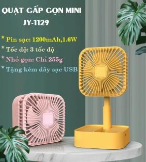 [FREESHIP] Quạt mini sạc điện cầm tay gấp gọn, để bàn cute, 3 chế độ gió, giá rẻ hơn quạt máy, máy quạt mini, quạt mini phun sương, quạt hơi nước mini, máy lạnh mini, quạt tích điện loại lớn 12 tiếng thumbnail