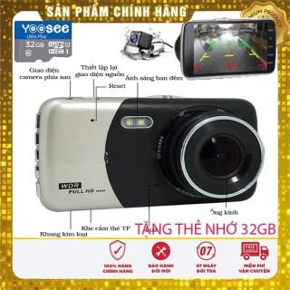 [kèm Thẻ Nhớ 32Gb] Camera Hành Trình Ô Tô Trước Sau Full Hd1080P X002 thumbnail