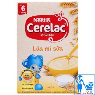 Bột Ăn Dặm Dinh Dưỡng Nestlé Cerelac Lúa Mì Sữa Hộp 200g (Dành cho trẻ từ 6 tháng tuổi) thumbnail