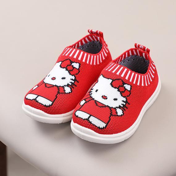 Giá bán giày lười bé gái kitty size 17-22