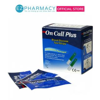 Que Thử Đường Huyết Acon On Call Plus hộp 25 Que thumbnail