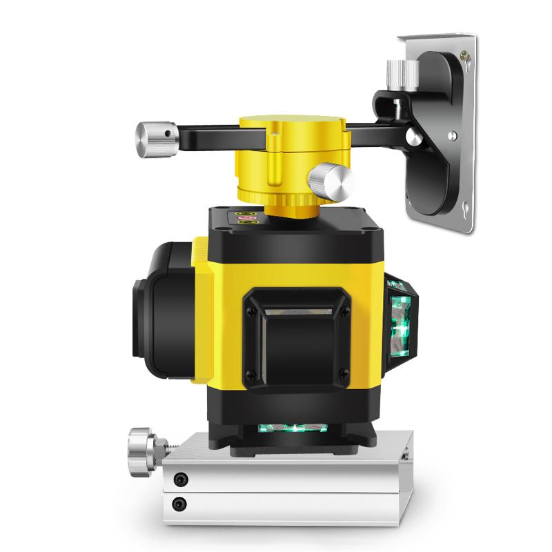 Máy cân bằng máy cân mực máy bắn cốt máy đo góc tia laser vàng điều khiển từ xa trong xây dựng căn chỉnh chính xác