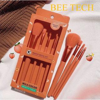 Cọ Trang Điểm Màu Hồng, Cọ Trang điểm cá nhân, Bộ Cọ Trang Điểm 4 Cây Mila Color Makeup Brush Set- Beetech thumbnail