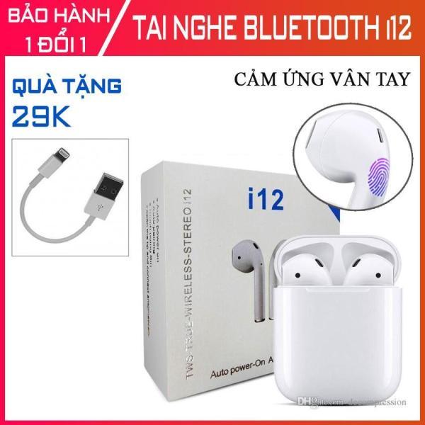Bảng giá Tai Nghe Bluetooth 5.0 I12 Tws (Cảm Ứng) -Tai Nghe Nhét Không Dây,Tai Nghe Bluetooth I7s, Tai Nghe Khong Day I11,I18,I9s Phong Vũ