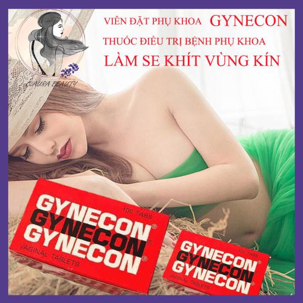 [ 2 Vỉ 5 Viên/Vỉ ] Viên Đặt Gynecon- Viên Đặt Phụ Khoa Gynecon Hàng Thái Lan - Viên Đặt Se Khít Vùng Kín - Se Khít Vòng Một - Phụ Khoa - Viên Đặt Phụ Khoa Open Shop giá rẻ