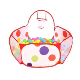 Lều Bóng Cho Bé Tặng Kèm 100 Trái Banh-đồ chơi thể thao và ngoài trời đồ dùng vận động cho bé Thỏa Sức Sáng Tạo, Vui Đùa - lều cắm trại, du lịch tại nhà cho bé trai và bé gái giúp trẻ em tăng khả năng vận động thumbnail